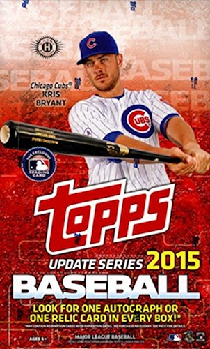 2015 Topps Series 3 Updates & Highlights Baseball Cards Hobby Box (36 Packs/Box, 10 Cards/Pack). 10/21 Release Date. 1 Autograph or Memorabilia card Per Box. Look for Rookie Sensation, Highlight of the Year, Rainbow Parallels, and other inserts!