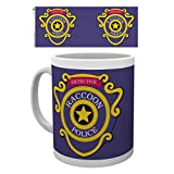 Resident Evil Photo Coffee Mug - Racoon Police, Detective (4 x 3 inches)