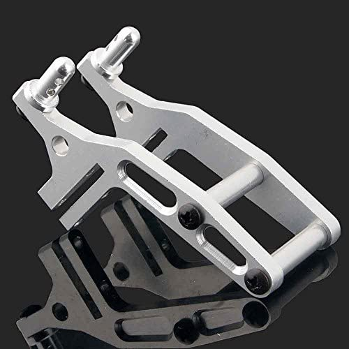 Aluminum 106044 Wing Stay 1Set Silver Fit RC HSP 1//10 Off-Road Buggy