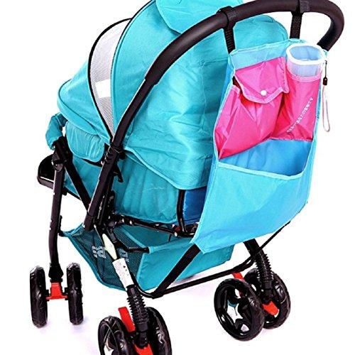 Sandistore Baby Stroller Pushchairs Pram Basket Toys Diaper Net Mesh Storage