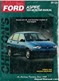 CH26120 Chilton Ford Aspire 1994-1998 Repair Manual