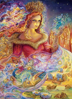 Josephine Wall Magic Jigsaw Puzzle Tin by Master Pieces