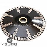 5'' Diamond Turbo Blade Convex Sink Cutter Wet/DRY Granite Stone Concrete