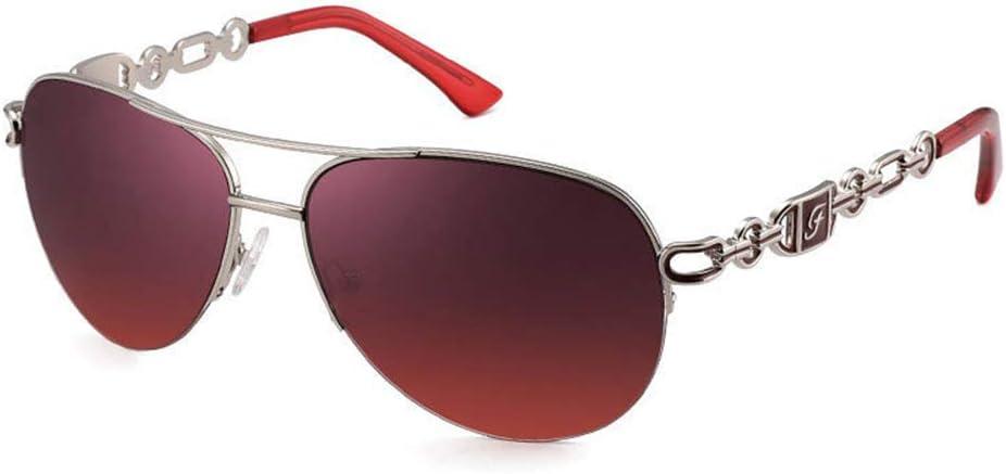 outdoor product Visera de protección UV, Gafas de Sol de Metal de Media Montura antiparras de luz Azul