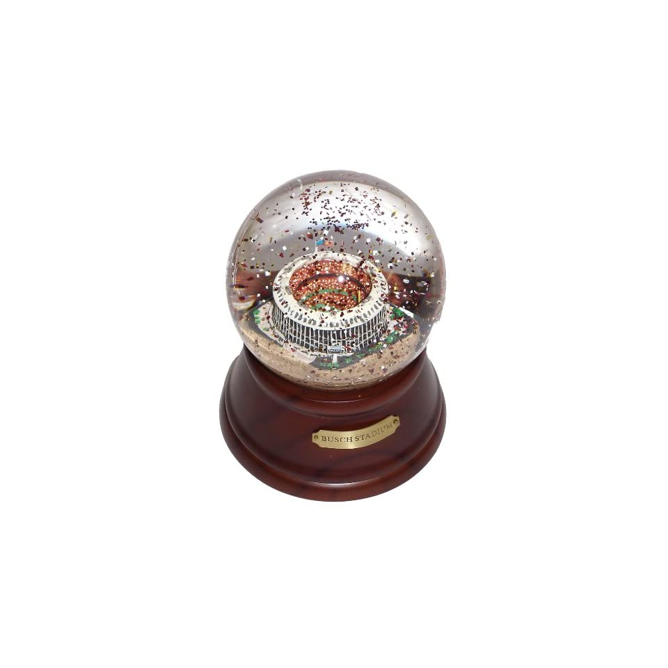 MLB Saint Louis Cardinals Historical Busch Stadium Former St Louis Cardinals Musical Globe  Sports Related Collectible Water Globes  Sports & Outdoors