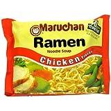 Maruchan CHICKEN FLAVOR Ramen Noodle Soup 3oz (18 pack)