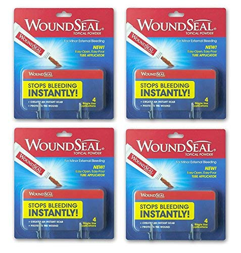 WoundSeal Powder, 4 ea (Pack of 4) by Biolife, LLC.
