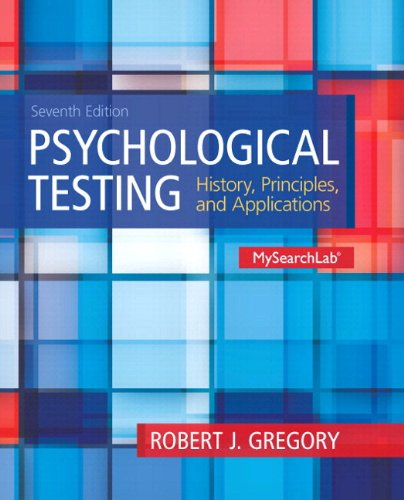MySearchLab with Pearson eText -- Standalone Access Card -- for Psychological Testing: History, Principles and Applicati