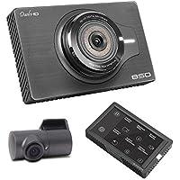 Blackcam BCH850 HD Front/Rear Dash Cam Video DVR GPS Recorder