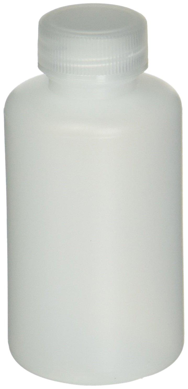 Pack of 12 60 ml//2 oz Capacity Azlon 301705-0002 HDPE Plastic Narrow Mouth Lab Sample Bottle