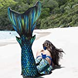Fin Fun Atlantis Mermaid Skin, Monofin NOT