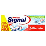 duopack Signal Family Protection Toothpaste Against Dental Caries DUOPACK (Active MicroCalcium + Fluoride) 2 x 3,4 oz