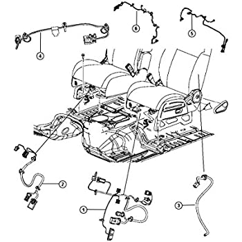 Amazon Com Mopar Performance 68087502aa Mopar Wiring Automotive