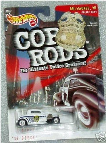 Hot Wheels Rods Cop - Hot Wheels 1999 Cop Rods: Milwaukee WI '32 Deuce
