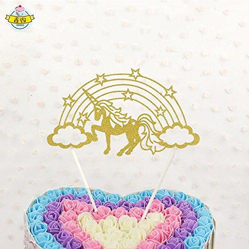 BESTOYARD Cake Topper Cumpleaños Boda Decoración para Tarta ...