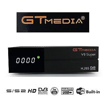 GT MEDIA V9 Super DVB S2 Satelite Ricevitore Decodificador