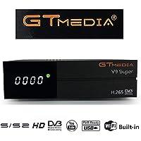 GTMedia V9 Super DVB S2 TV ricevitore Satellite decoder Support 1080P Full HD PowerVu Biss chiave Newca CCCAM con Built-in WiFi