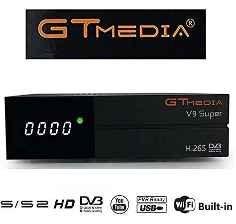 GT Media V9 Super DVB S2 Satelite Ricevitore Decodificador Oficial ...