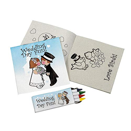 Fun Express FX IN-12/3790-X2 Individually Packaged Childrens Wedding Activity Sets (Pack of 24)