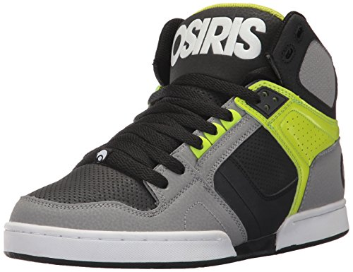 Osiris Mens Nyc 83 Scarpa Da Skateboard Grigio / Lime