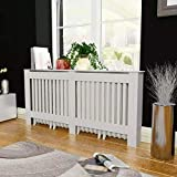 Quisilife MDF Radiator Cover Heating Cabinet White