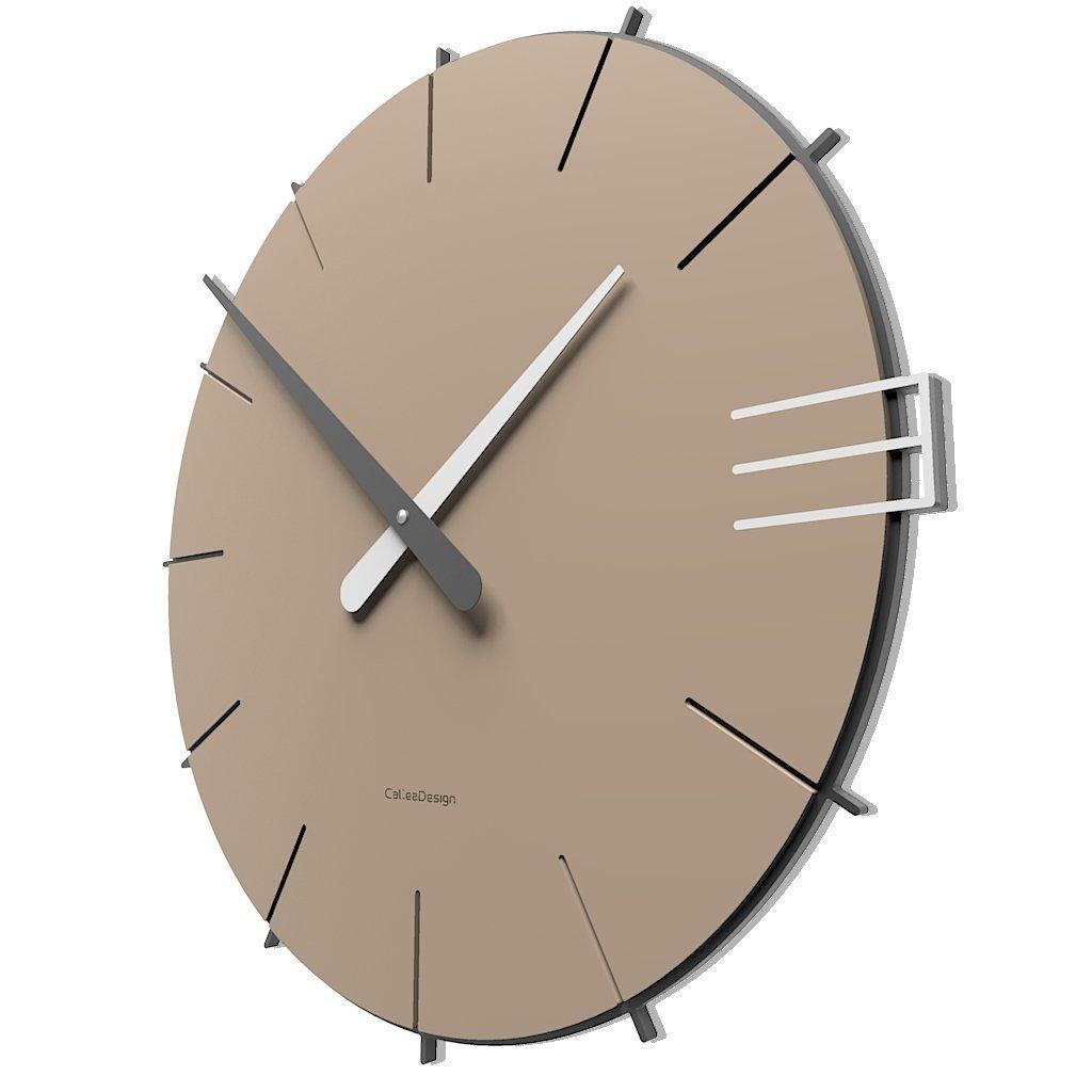 CalleaDesign 壁時計 Mike イタリアのデザイン (ラテ) B01LT6GS1S ラテ ラテ