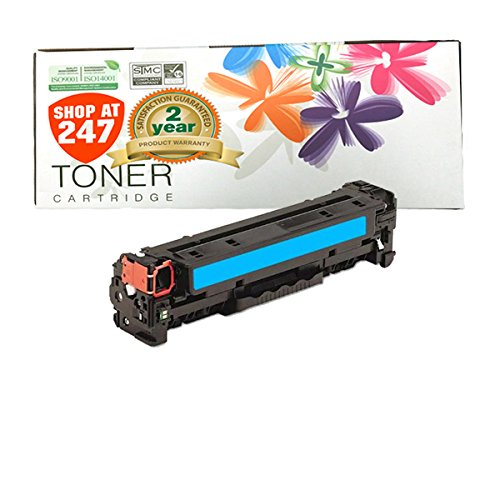 Shop At 247 ® Compatible Toner Cartridge Replacement for HP CE321A (Cyan, 1-Pack)