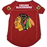 Chicago Blackhawks NHL Dog Jersey Large
