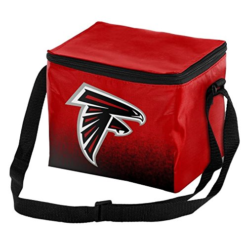 Forever Collectibles NFL Unisex Gradient Print Lunch Bag Coolergradient Print Lunch Bag Cooler, Atlanta Falcons, Standard