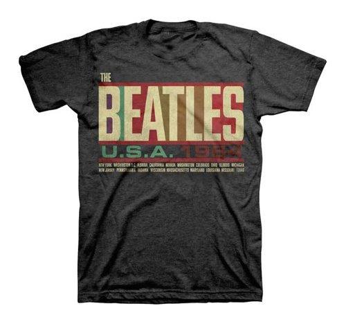 Beatles T-shirt Tee - The Beatles- USA 1964 T-Shirt Size XXL