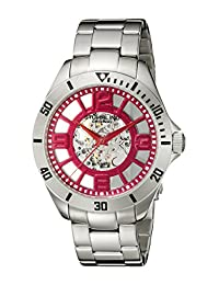 Stuhrling Original Men's 8111.33114 Classic Neo Winchester Automatic Skeleton Red Dial Watch