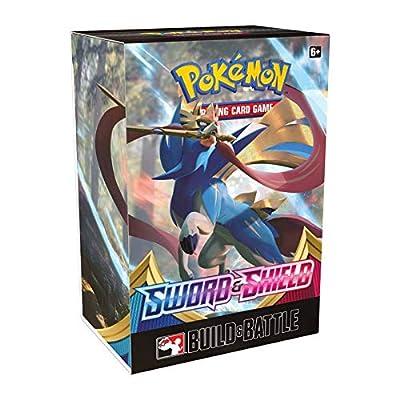Pokemon TCG Sword & Shield Rebel Clash Build & Battle Box: Toys & Games