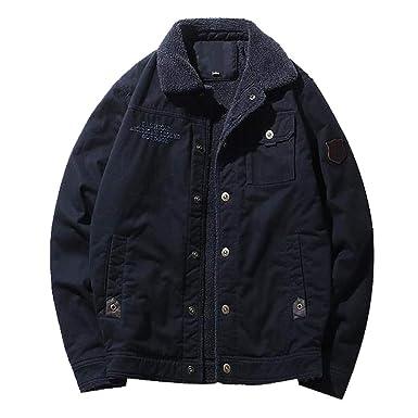 Hombres Vintage Mezclilla Jeans Chaquetas Cazadora Ropa Trench Coat Solapa Chaquetones Slim Fit Negocios Denim Más Terciopelo Jacket Coat Abrigos Hombre ...