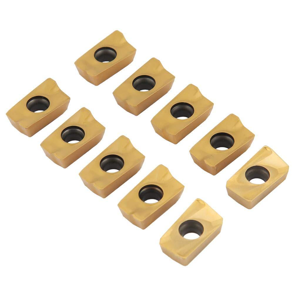 Supporto per fresa frontale con fresa a punta radente e inserti in metallo duro APMT1604 da 10 pezzi per fresatura CNC pesante