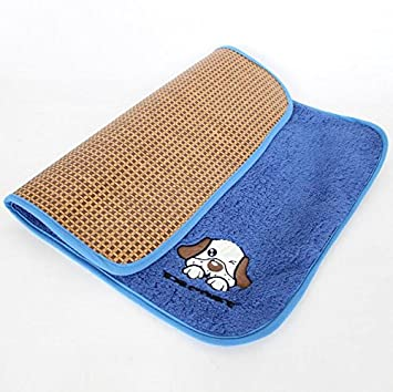 HNBGY Agradecido Doble Uso Estera para Dormir de enfriamiento para Mascotas 2 en 1 Estera para