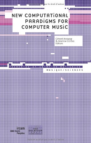 Read Online New computational paradigms for computer music pdf