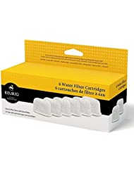Keurig Water Filter Refill Cartridges, 6 count, For use with Keurig 2.0 and 1.0/Classic K-Cup Pod Coffee Makers