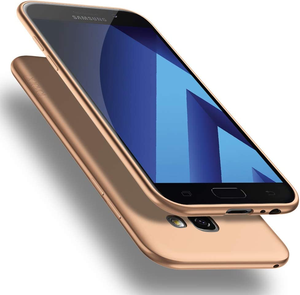 X-level Funda para Samsung Galaxy A5 2017, Carcasa para Samsung Galaxy A5 2017 Suave TPU Gel Silicona Ultra Fina Anti-Arañazos y Protección a Bordes Funda Phone Case para Galaxy A5 2017: Amazon.es: