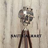 Nauticalmart Hollywood Style tripod Floor Lamp Spotlight, Corner Searchlight
