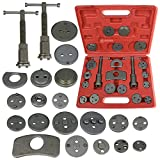 21 pcs Universal Disc Brake Caliper Piston Pad Car Auto Wind Back Hand Tool Kit