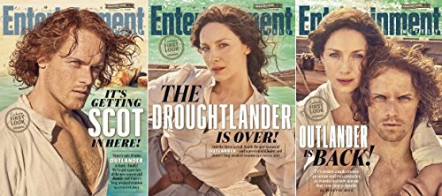 Entertainment Weekly Magazine (September 1, 2017) Outlander 3 Different Covers Set