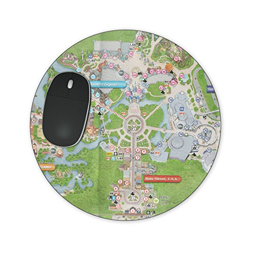 Magic Kingdom Map Mousepad - Rectangle Mousepad