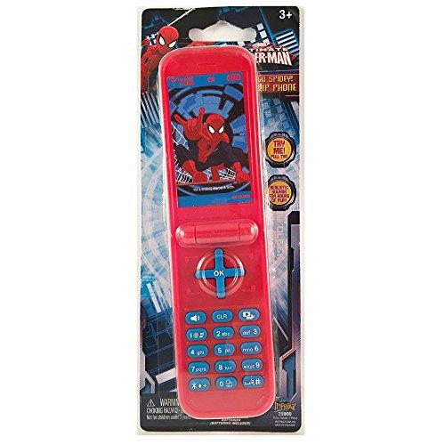 Ultimate Spider man Spidey Flip Phone