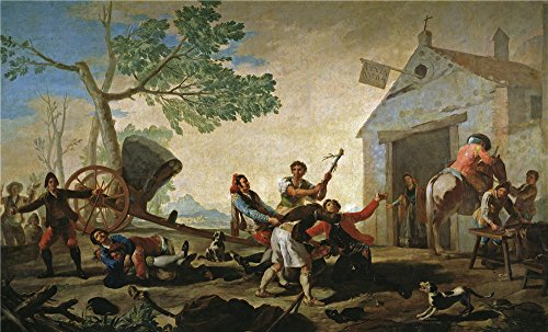 The Polyster Canvas Of Oil Painting 'Goya Y Lucientes Franci