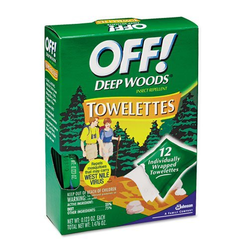 OFF! Deep Woods Towelettes - Includes 12 per case. by OFF!