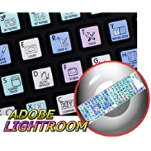 ADOBE LIGHTROOM GALAXY SERIES KEYBOARD STICKERS SHORTCUTS 12X12 SIZE