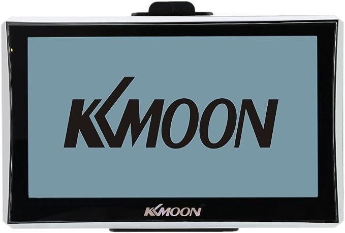 128 MB di RAM e 4GB di ROM FM Video MP3 con Supporto Schienale Mappa Gratuita KKmoon GPS Navigatore con schermo da 7 HD