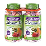 Vitafusion Calcium Gummies, 500 mg (2 Pack, 200 ct.) For Sale