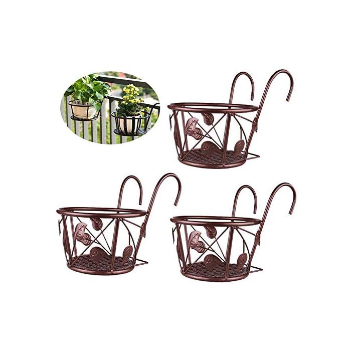 Hanging-Planters-Basket-Metal