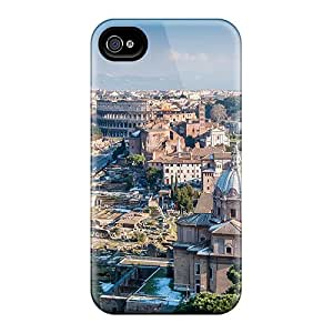 Fashion Tpu Cases For Iphone 6plus- Beautiful View Of Rome Defender Cases Covers